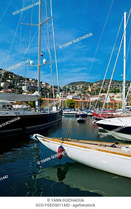 Theoule's Harbour; Alpes Maritimes; France