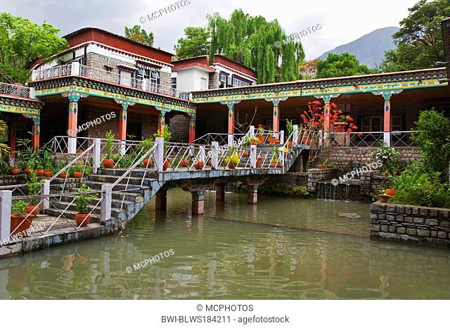 The NORBULINGKA INSTITUTE is a TIBETAN BUDDHIST CULTURAL CENTER near DHARAMSALA, India, Dharamsala