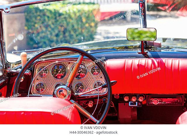 Muntz Jet car, 1950s, Saint-Jean-Cap-Ferrat, French Riviera, Alpes-Maritimes department, France