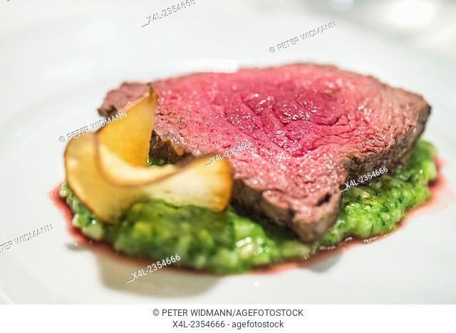 Food on plate, Austria