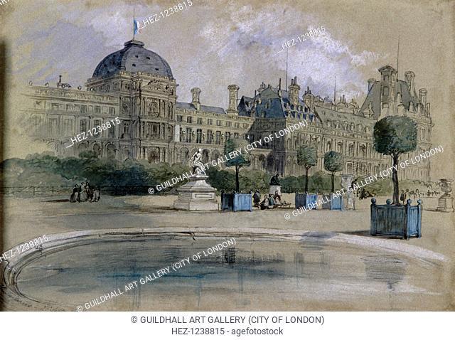 The Tuileries, Paris, France, 1846