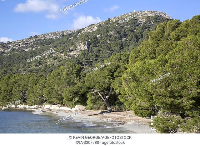 Formentor Beach; Majorca; Spain