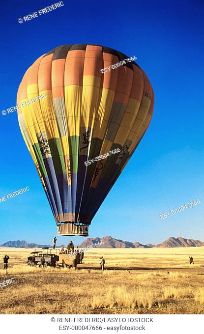 Hot air balloon ride. Namib-Naukluft National Park. Namibia