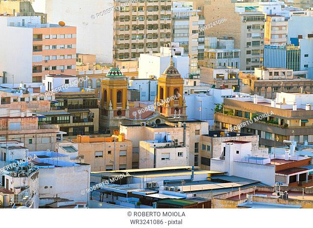Cityscape of Almeria, Spain, Europe