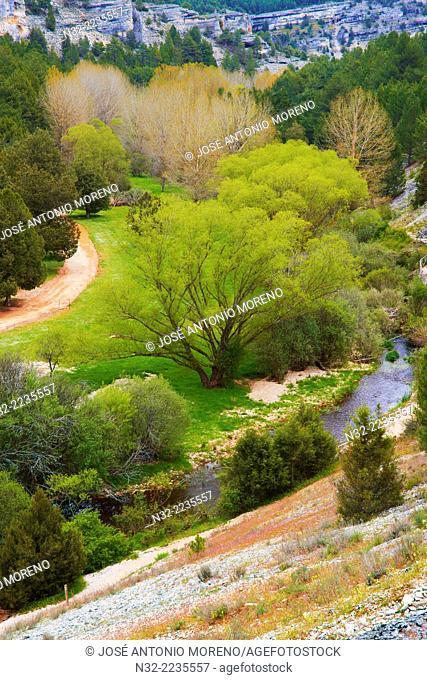 Cañón de Río Lobos gorge, Rio Lobos Natural Park, Ucero, Soria, Spain