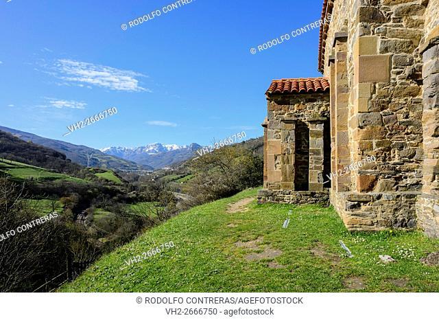 Santa Cristina de Lena, Asturias