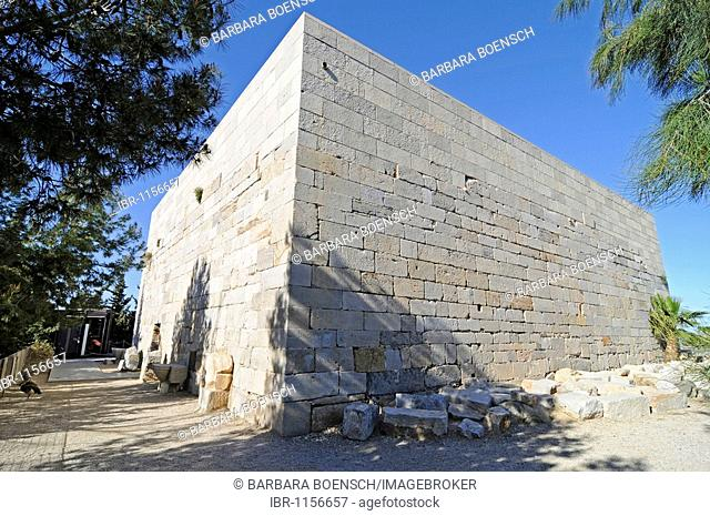 Castillo de la Concepcion, castle, fortress, museum, Cartagena, Costa Calida, Murcia, Spain, Europe