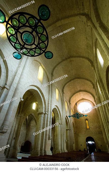 Inside of the Cathedral of Tarragona, Barcelona, Catalonia, Spain