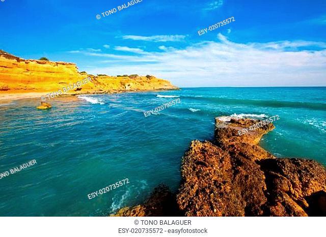 Ibiza island Platja Es bol Nou beach Ses Salines