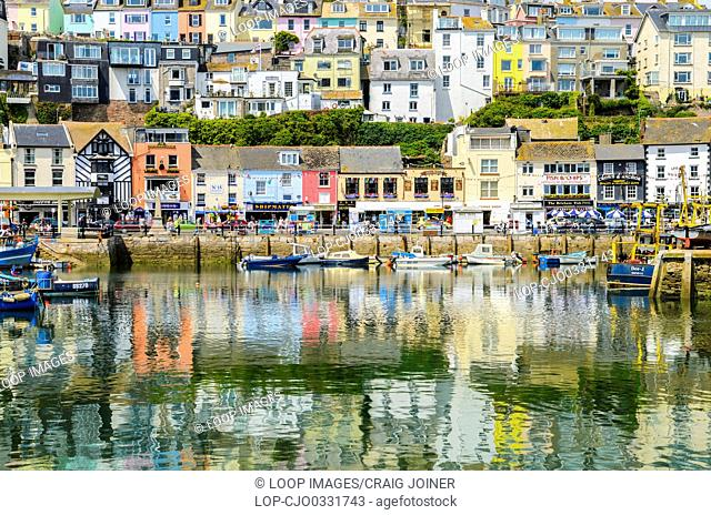 The fishing town of Brixham