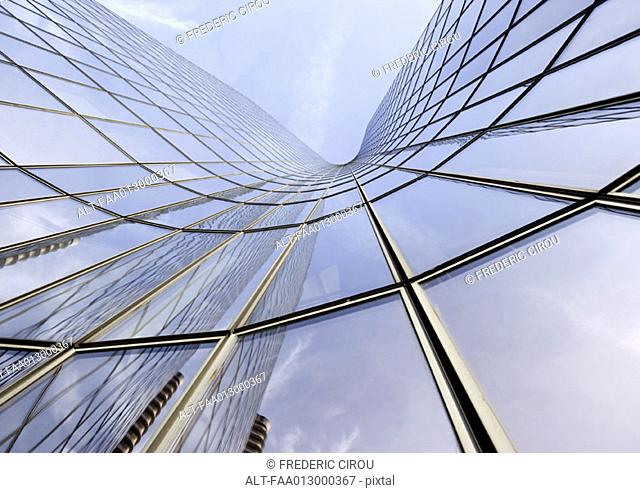 Skyscraper, low angle, abstract view