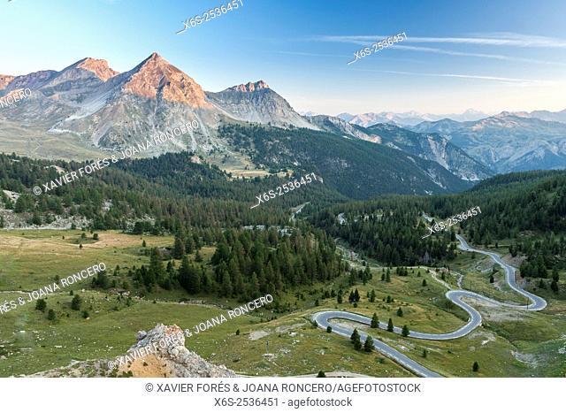 Col d'Izoard in the Parc Naturel Régional du Queyras, Hautes-Alpes, Provence-Alpes-Côte d'Azur, France