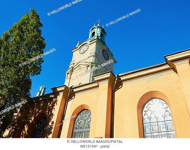 Storkyrkan (Stockholm Cathedral), Gamla Stan, Stockholm, Sweden, Scandinavia
