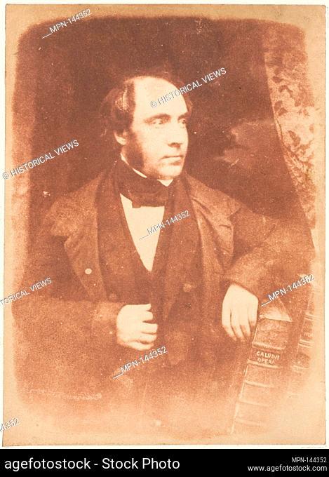 Rev. George Lewis, Dundee. Photography Studio: Hill and Adamson (British, active 1843-1848); Artist: David Octavius Hill (British, Perth