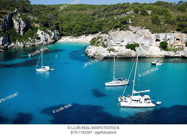 Menorca, Cala Macerelleta, Balearics, Spain