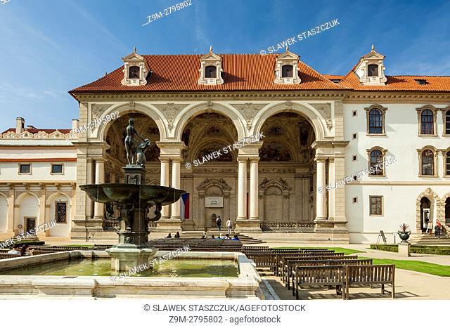 Wallenstein Palace, Prague, Czech Republic