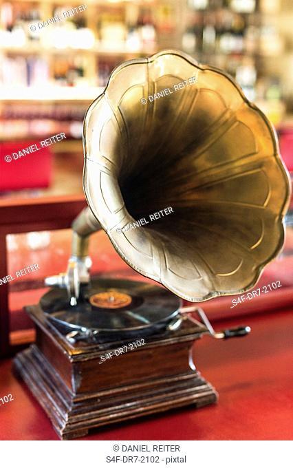 Altes Grammofon