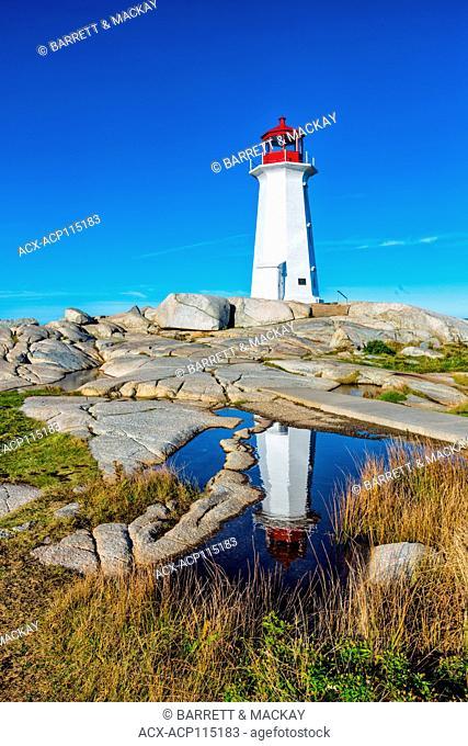Lighthouse, Peggys Cove, Nova Scotia, Canada