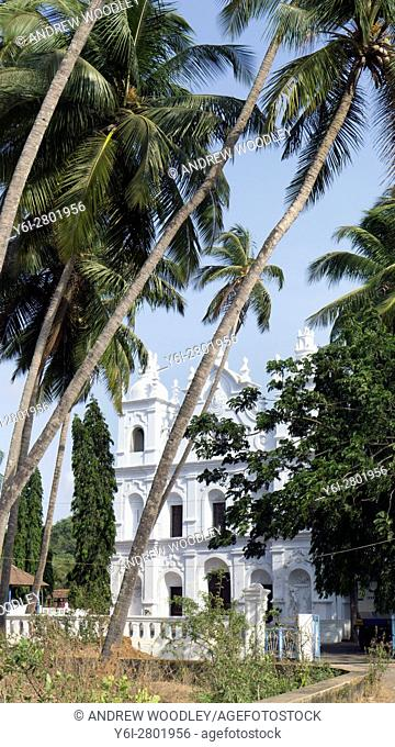 St Michael Church Anjuna Vagator Goa India