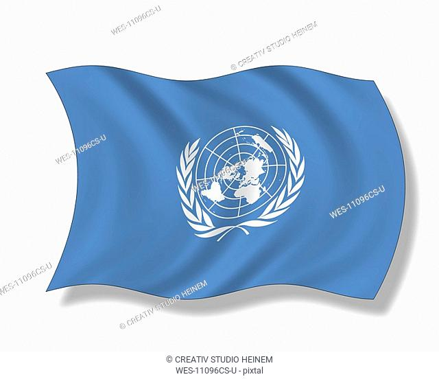 Illustration, Flag of United Nations