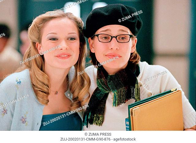 Jan 31, 2002; London, England, UK; JANE MCGREGOR (left) as Starla Grady and PIPER PERABO as Genevieve LePlouff in the comedy 'Slap Her