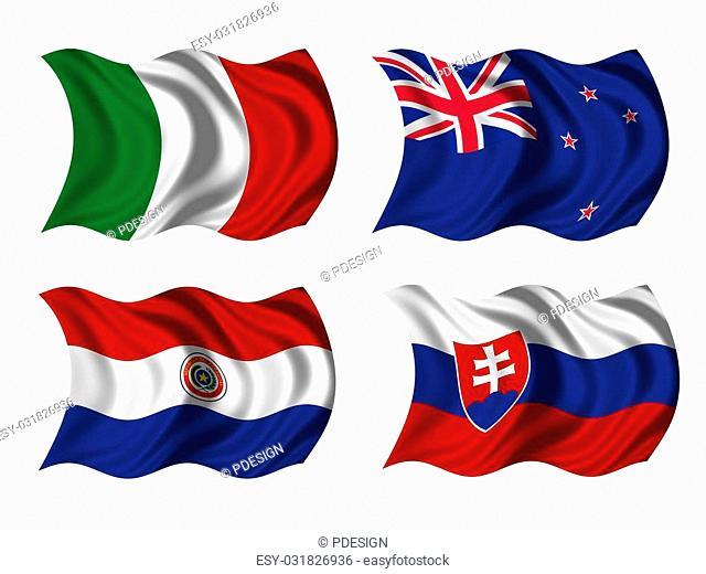 soccer team flags group F