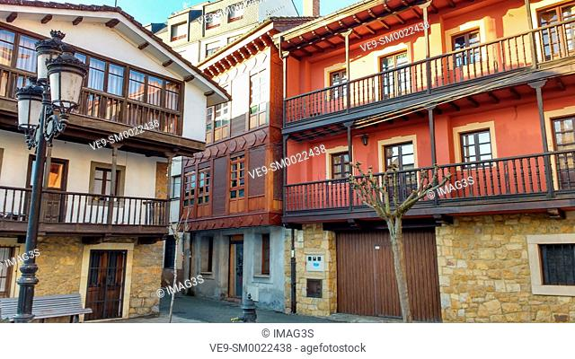 Nava village, Asturias, Spain