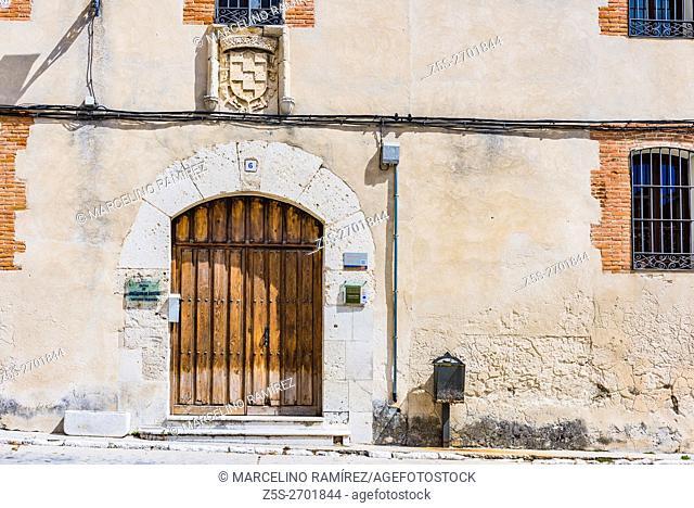 Traditional Castilian architecture. Cuéllar, Segovia, Castilla y León, Spain, Europe