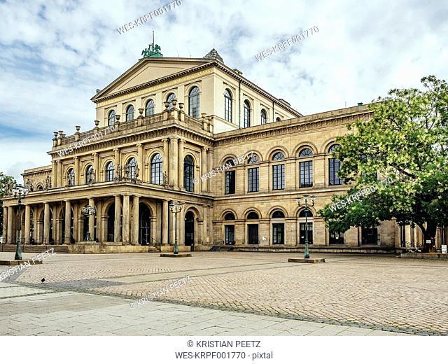 Germany, Lower Saxony, Hanover, State opera