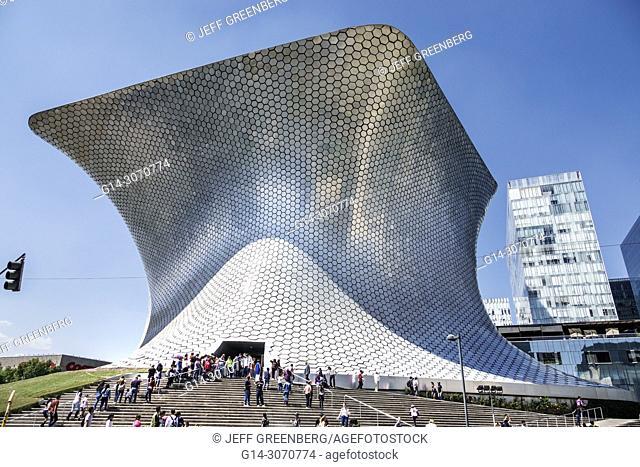 Mexico, Mexico City, Ciudad de, Federal District, Distrito, DF, D.F., CDMX, Hispanic, Mexican, Colonia Granada, Plaza Carso