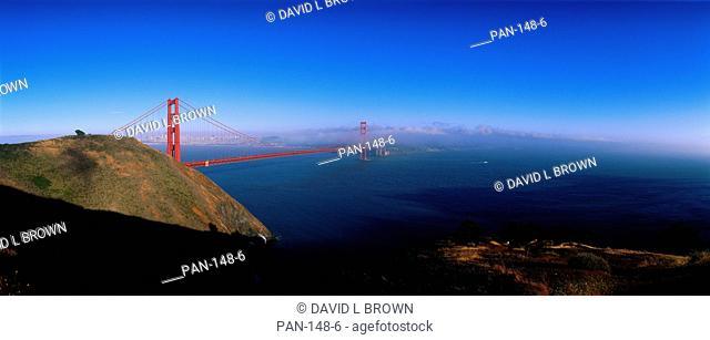 Golden Gate Bridge with Fog, San Francisco, California, USA