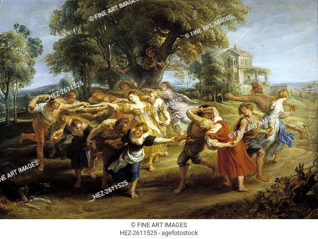 Peasant Dance, 1630-1635. Artist: Rubens, Pieter Paul (1577-1640)