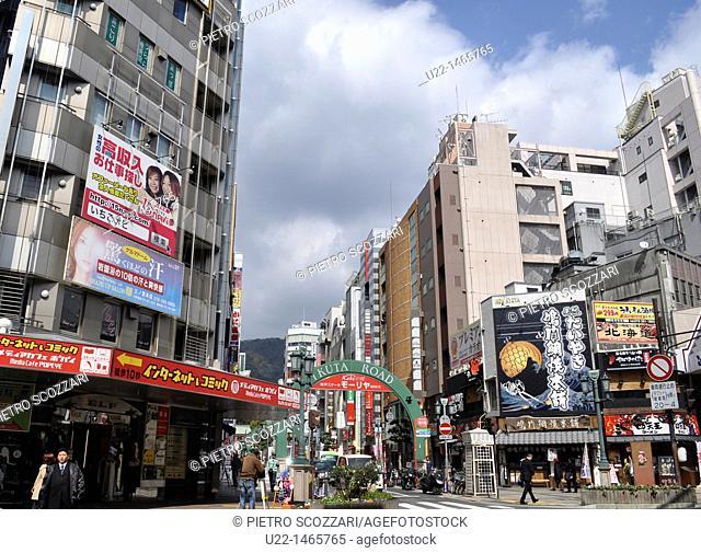 Kobe (Japan): Ikuta Road