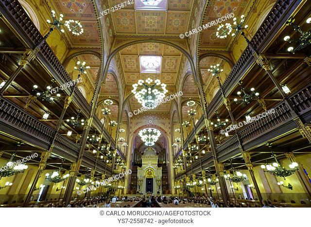 Dohány Street Synagogue, Budapest, Hungary, Europe