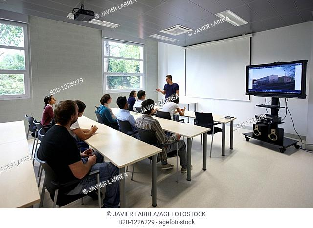 Meeting room, Materials Physics Center is a joint center of the Spanish Scientific Research Council CSIC and the University of the Basque Country UPV/EHU