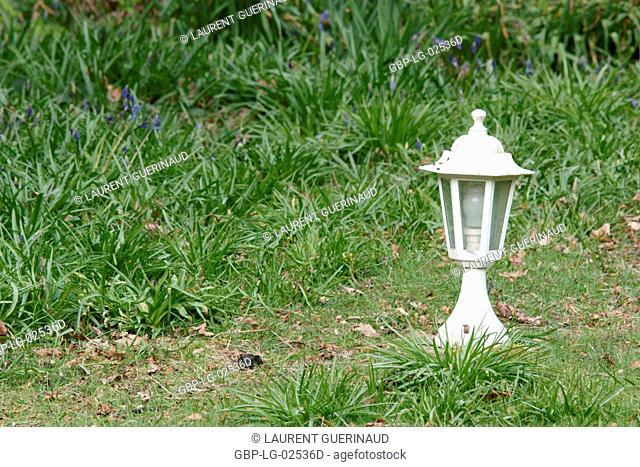 Garden, Boissy sous Saint Yon, Essonne, Ile de France, France
