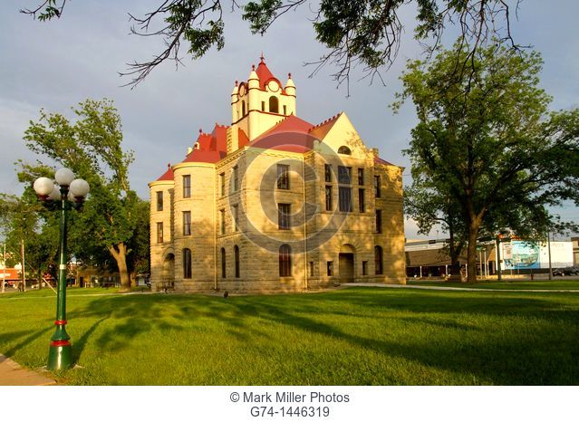 McCulloch County Courthouse, Brady, Texas, USA
