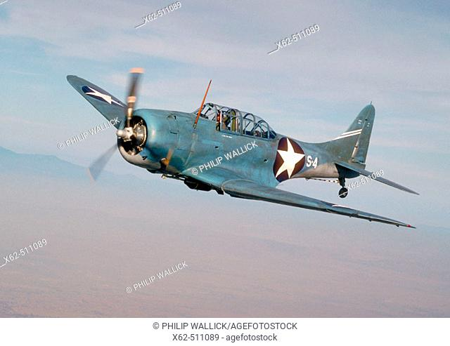 Douglas SBD Dauntless, American Second World War bomber