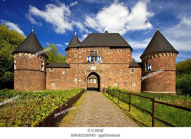 Vondern castle, Germany, North Rhine-Westphalia, Ruhr Area, Oberhausen