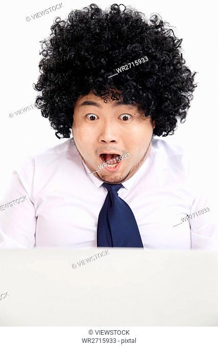The shocking fat man