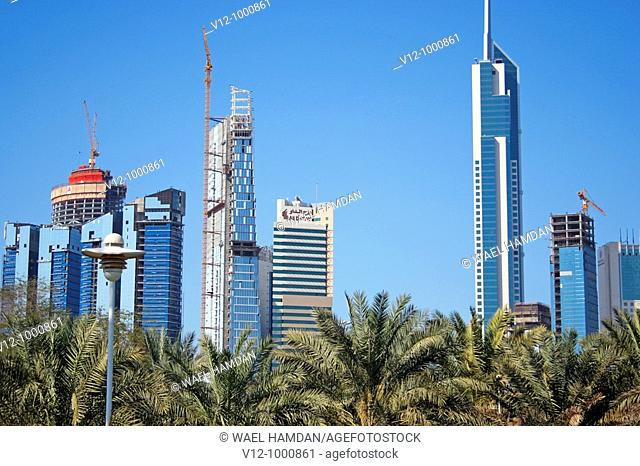 Skyscrapers,Kuwait city
