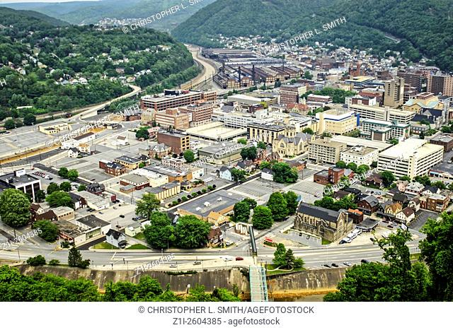 View of Johnstown Pennsylvania PA