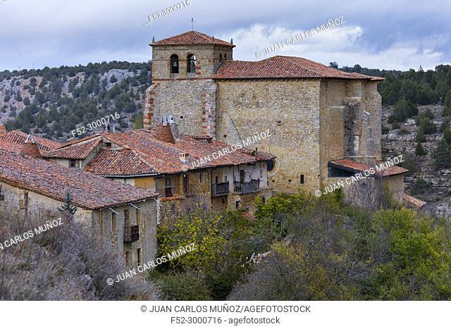 Calatañazor village, Soria province, Castilla y Leon, Spain, Europe