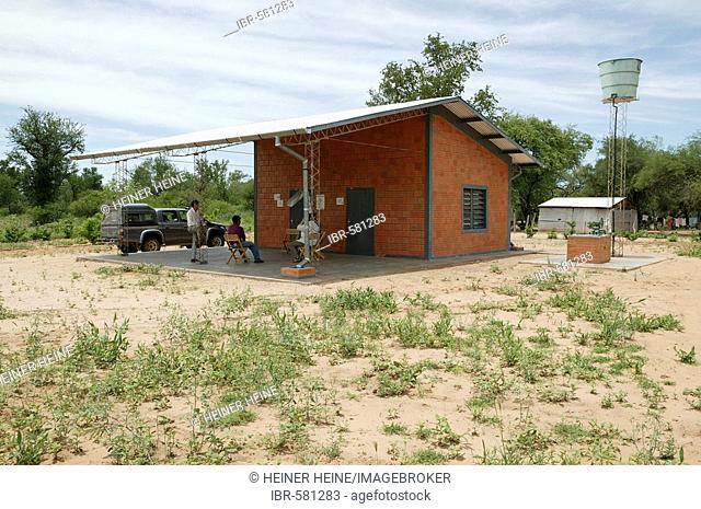 Medical station of the Nivaclé Indians, Jothoisha, Chaco, Paraguay, South America