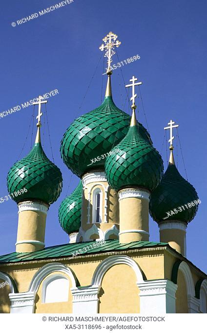 Church of John the Baptist, Alexey Monastery, Uglich, Golden Ring, Yaroslavl Oblast, Russia