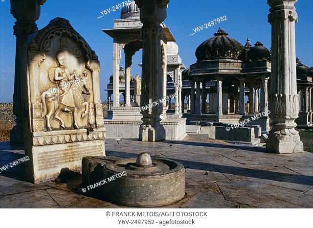 Cenotaph at Sirohi ( Rajasthan, India)