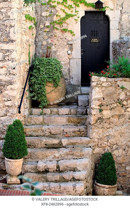 Eze village, Alpes-Maritimes, Côte d'Azur, French Riviera, France