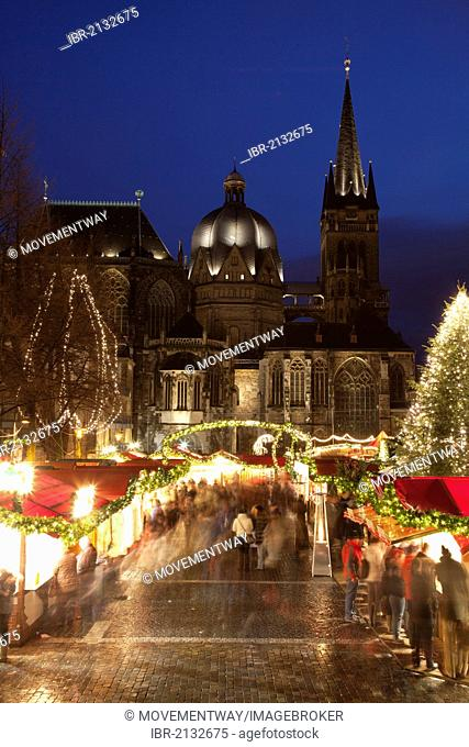 Aachen Weihnachtsmarkt.Aachen Weihnachtsmarkt Stock Photo Picture And Royalty Free Image