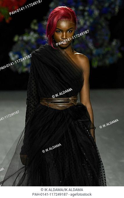Roberta Einer runway show during London Fashion Week, AW19, Autumn Winter 2019 collection - London, UK 19/02/2019   usage worldwide