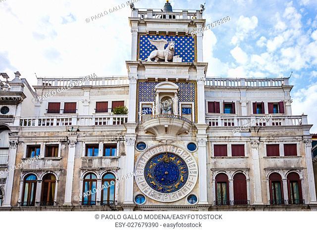 Venice Sant Marks Square astronomical clock face